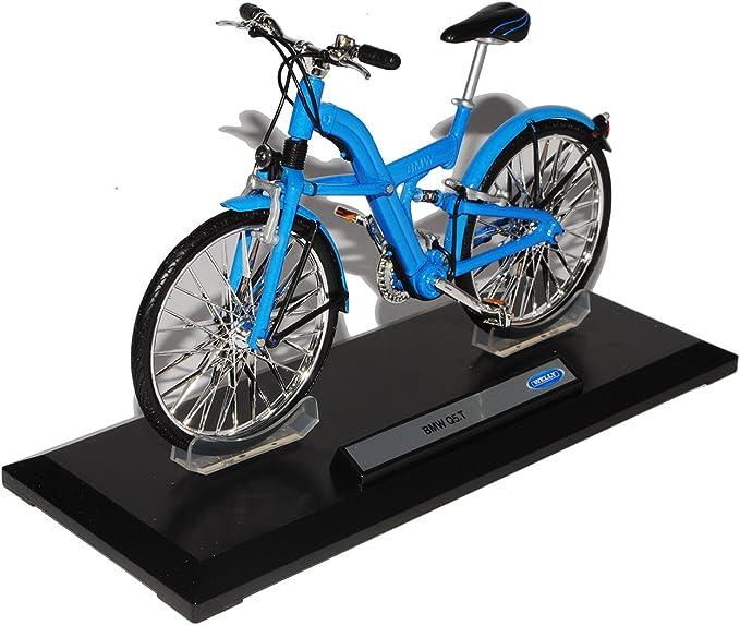 Welly BMW Q5 Q 5T Blau 1/10 Modelo de la Bici Bicicleta Modelo ...