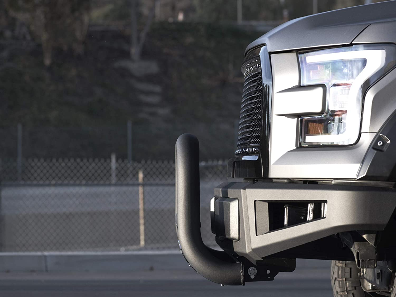 Armordillo USA 7168961 MS Series Bull Guard W//Skid Plate 1998-2012 Ford Ranger Matte Black
