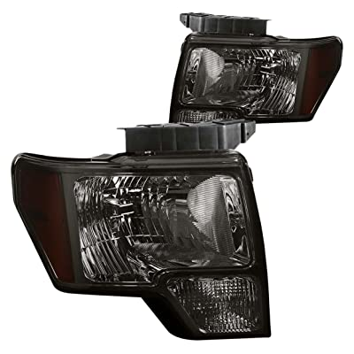 DNA Motoring HL-OH-F1509-SM-AM Headlight Assembly, Driver & Passenger Side: Automotive