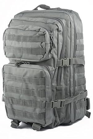 Camo Outdoor Mil-Tec Army Patrol MOLLE - Mochila táctica (50 L), color gris: Amazon.es: Deportes y aire libre