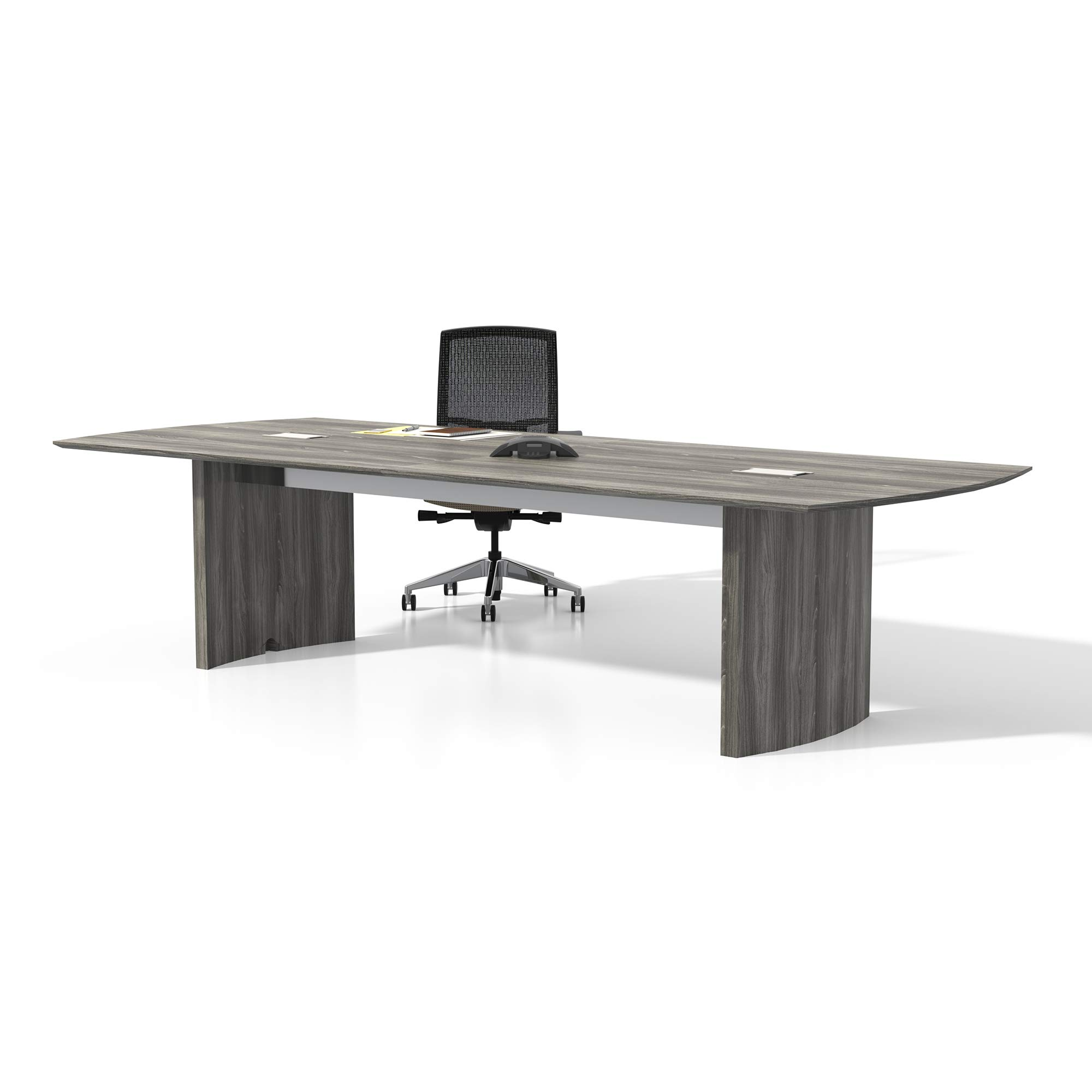 Safco Products MNC10LGS Medina Table 10' Gray Steel by Safco Products (Image #3)