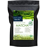 KimiNo Japanese Matcha Green Tea Powder - 50 gms - JAS Certified Matcha (Free Recipe EBook)