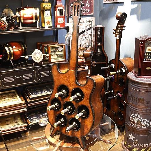 Estuche de vino de múltiples funciones para guitarra violín ...