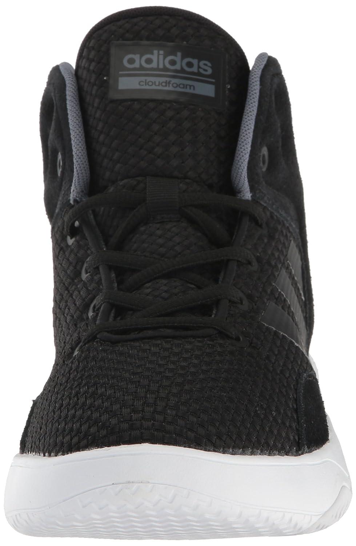 adidas neo uomini cloudfoam revival a metà il basket scarpa