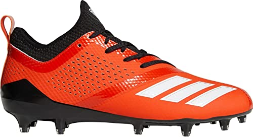 check out b1803 0ae2e adidas Mens Adizero 5-Star 7.0 Football Cleats (OrangeBlack  16 M