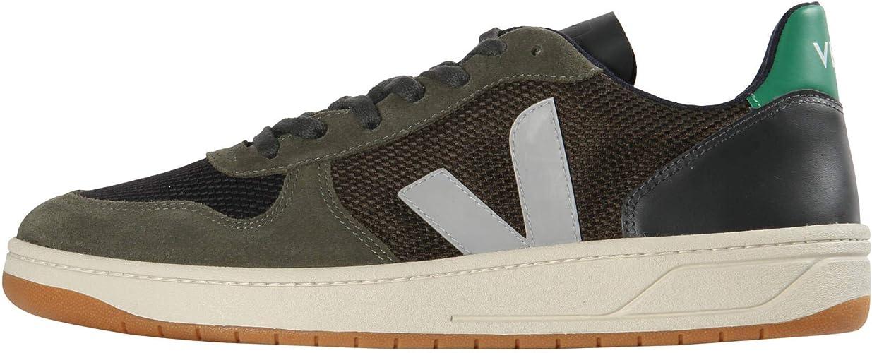 Fracción pastel cortar  Veja V-10 Zapatillas Moda Hombres Verde - 40 - Zapatillas Bajas Shoes:  Amazon.es: Zapatos y complementos