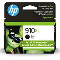 Original HP 910XL Black High-yield Ink Cartridge | Works with HP OfficeJet 8010, 8020 Series,… photo