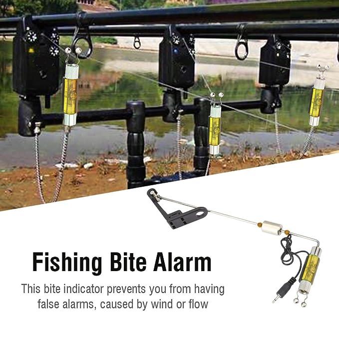 Amazon.com: vgeby – Juego de alarma de picada de pesca ...