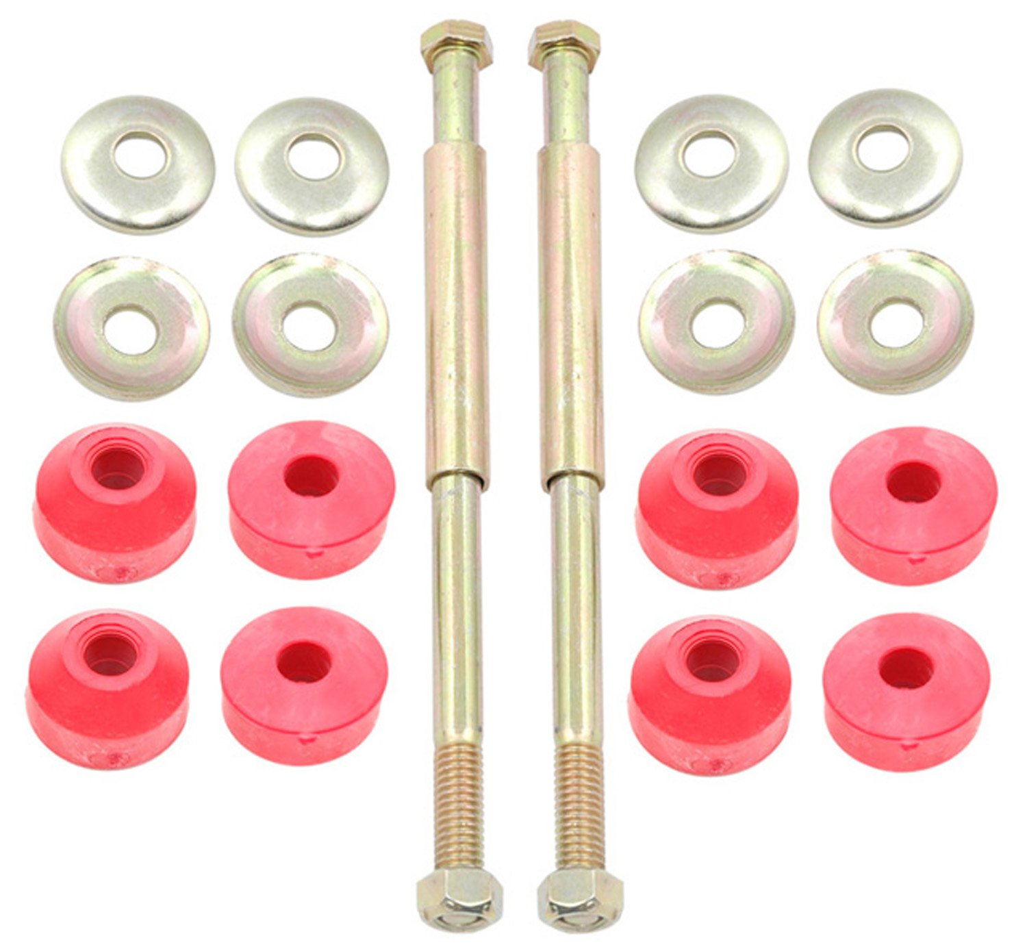 ACDelco 46G0032A Advantage Front Suspension Stabilizer Bar Link Kit with Hardware by ACDelco