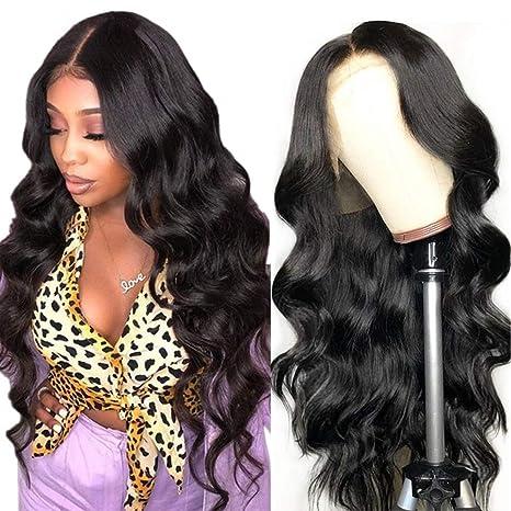 Perruques cheveux curl body wave naturels