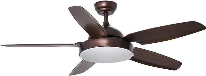 Faro Barcelona 33780 - LEYTE Ventilador de techo con luz LED ...