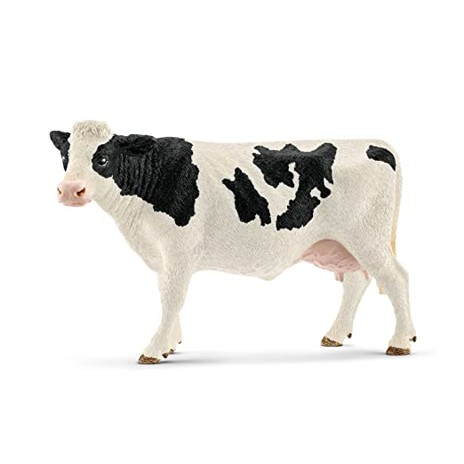2 opinioni per Schleich 13797- Giocattolo Mucca Holstein