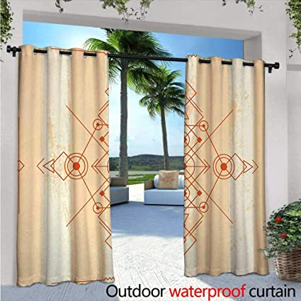 Amazon.com: Cortinas de patio modernas con diseño de ...
