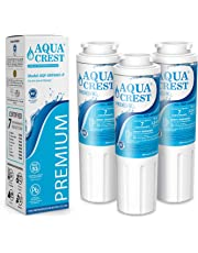 AQUACREST UKF8001 NSF 53&42 Certified Refrigerator Water Filter, Compatible with Maytag UKF8001, UKF8001AXX, UKF8001P, PUR Jenn-Air UKF8001, EDR4RXD1B, EveryDrop Filter 4, 4396395, Puriclean II (3 Pack)
