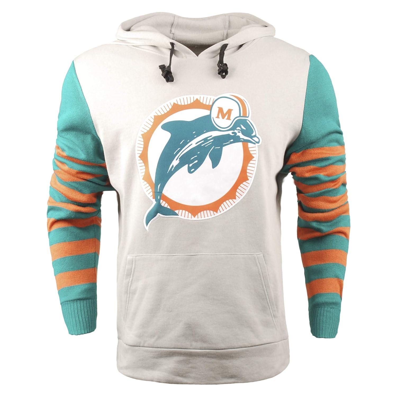 14b1daa8 FOCO NFL Men's Retro Knit Sleeve Hooded Sweater, Pick A Team