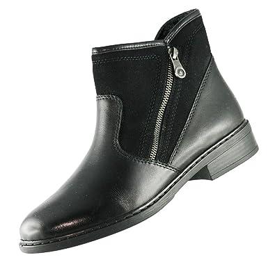 Rieker Winter Damen Schuhe Schuhe Schuhe schwarz 77571 00