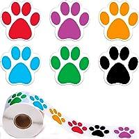 YUEMING 500 Stuks Muursticker Hondenpootjes,Stickers Pootjes Cadeaustickers,Pootafdrukken Autosticker,Stickers voor…