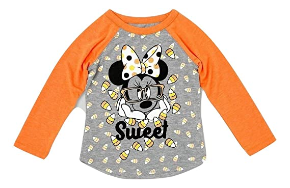 28bf3c8b Amazon.com: Toddler Girls Disney Minnie Mouse Halloween Shirt: Clothing