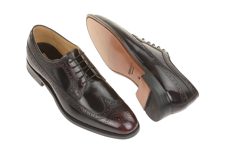 Gordon & Bros Herrenschuhe Ken 5131 Klassischer Rahmengenähter Schnürhalbschuh mit Derbyschnürung IM Brogue Stil für Anzug, Business und Freizeit