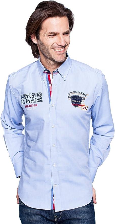 Giorgio Di Mare - Polo - para hombre L.BLUE XXXL: Amazon.es: Ropa ...