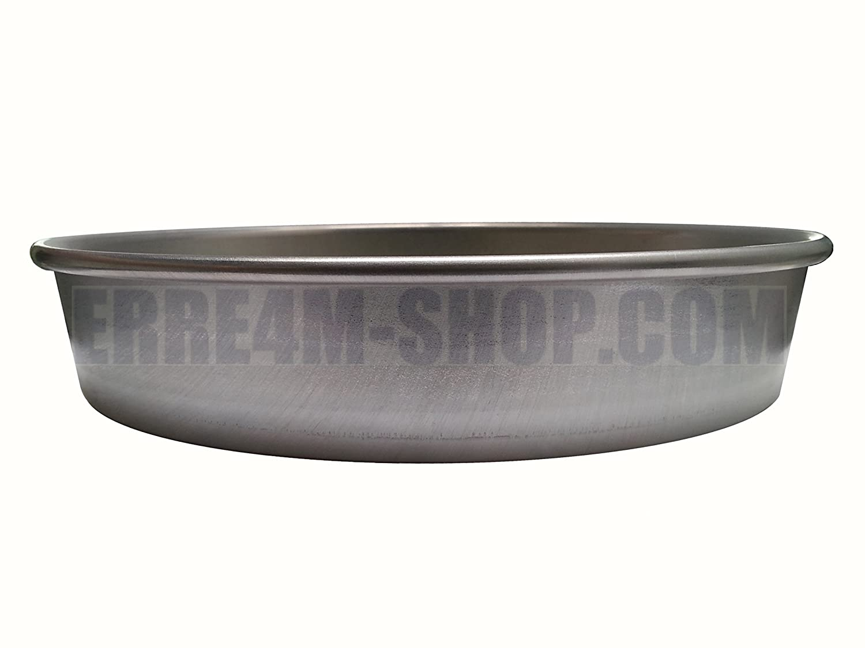 cm spessore 12//10 professionale h. Stampo per dolci in alluminio diametro 20x4,5