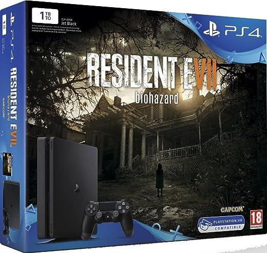 Pack de Console PS4 1 To + Resident Evil 7 [Importación francesa ...