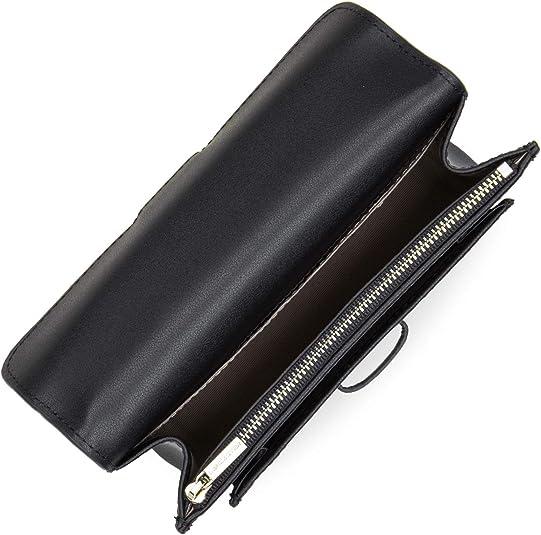 Lancaster City Andrea Bum Bag with Flap Noir: Amazon.es: Zapatos y complementos