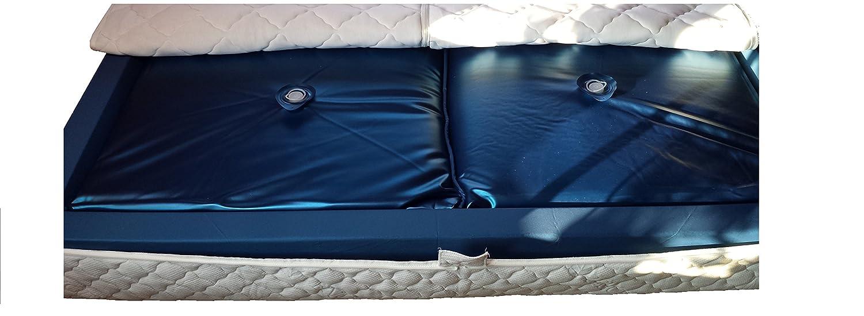 Mesamoll2/® Softside Wasserbett Matratze 90x200 cm f/ür Dual Wasserbetten 180x200cm I Hochwertige Wasserbettmatratze mit F2 50/% Beruhigung
