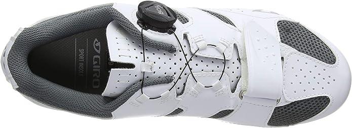 39 EU Chaussures de V/élo de Route Femme Multicolore White//Titanium 000 Giro Savix Road