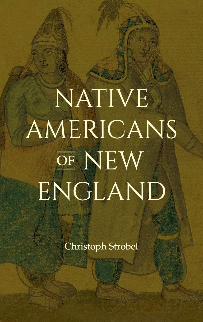 Native Americans of New England book jacket