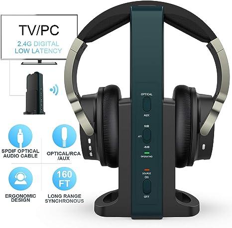 Wireless Headphones For Tv Watching With 2 4g Digital Amazon Co Uk Electronics