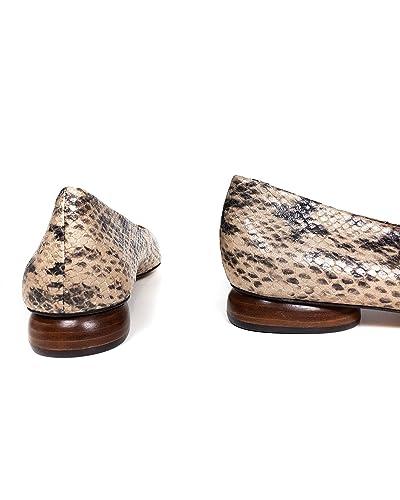95e2b1af7103 Amazon.com: Massimo Dutti Women Animal Print Ballerinas 1243/021: Shoes