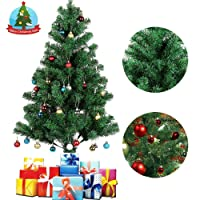 Deals on AGM Christmas Tree 6ft 700 Tips Artificial Pine Tree w/Metal Stand