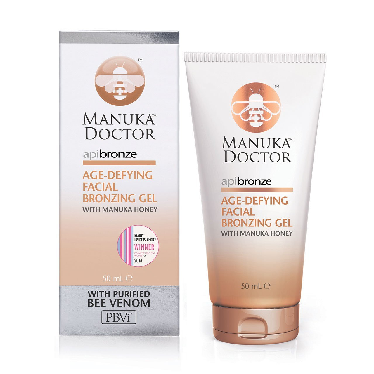 Manuka Doctor ApiBronze Age-Defying Facial Bronzing Gel 50 ml by Manuka Doctor MD601