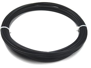 Unterschiedlich Kunststoffschweißdraht PE-HD 4mm Rund Schwarz 10 m: Amazon.de  EF65