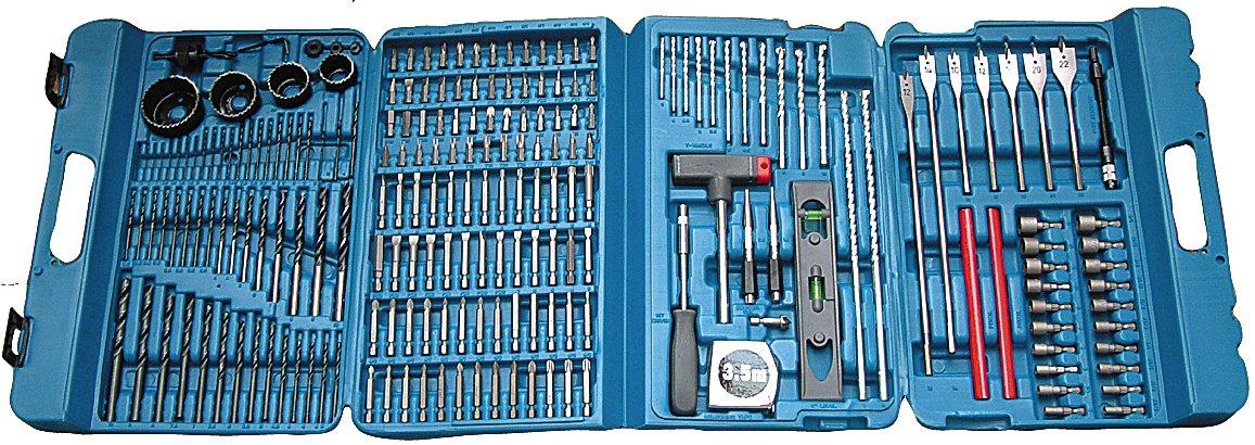 71tiYP2JmEL. SL1157  Makita P 44046c, set di punte per trapano e avvitatore da 216 pezzi