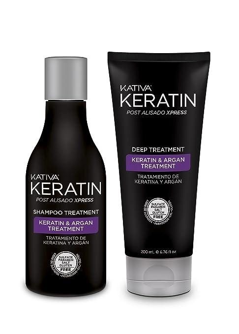 Bano de keratina awesome arual tratamiento alisador botox - Bano de keratina ...