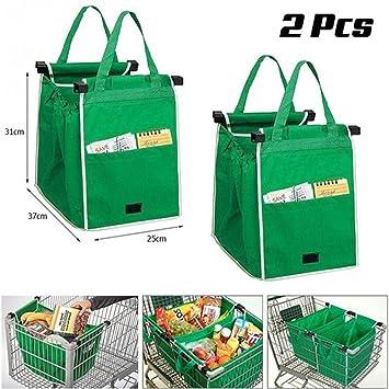 Amazon.com: Reutilizable grande trolley supermercado gran ...