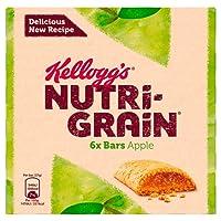 Kellogg's Nutri-Grain Fruity Breakfast Bars Apple 6 x 37g Bars