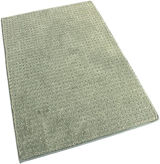 Koeckritz 2 x3 Hue Indoor Cut and Loop Area Rug Carpet Many Sizes and Shapes with Premium Fabric Finished Edges