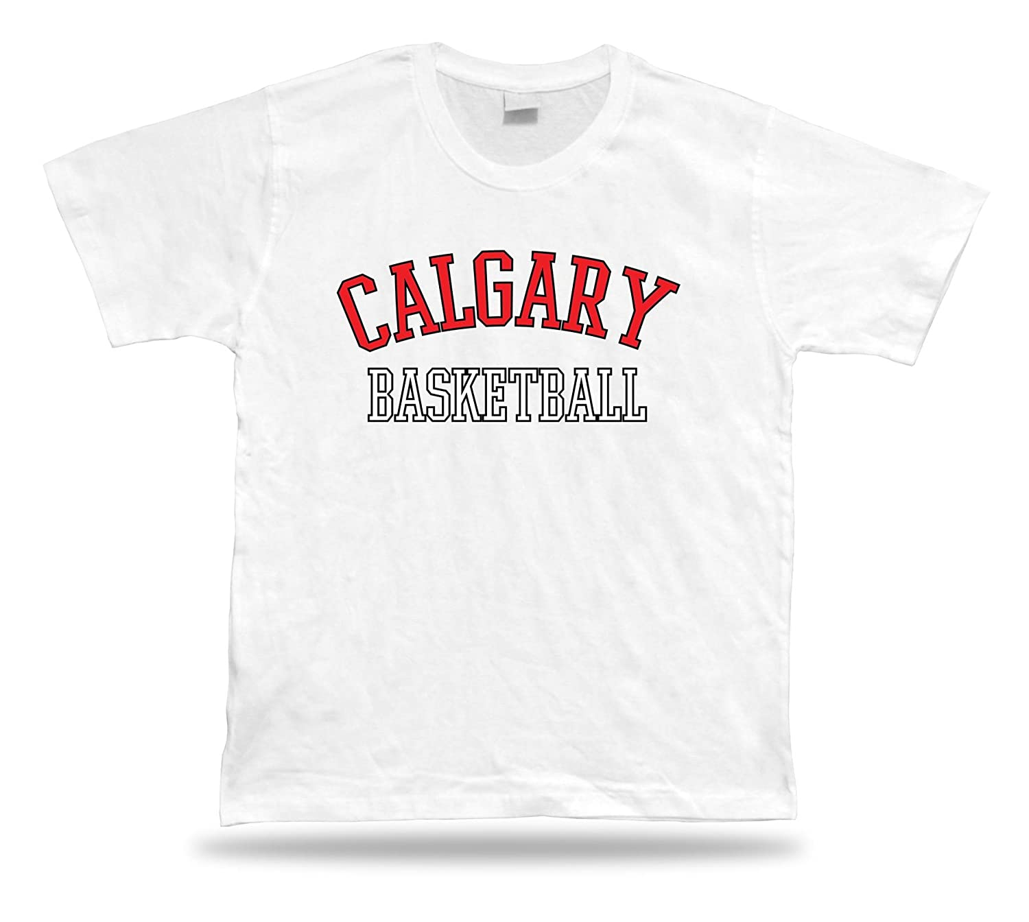Calgary Canada BASKETBALL t-shirt tee warm up style court side design