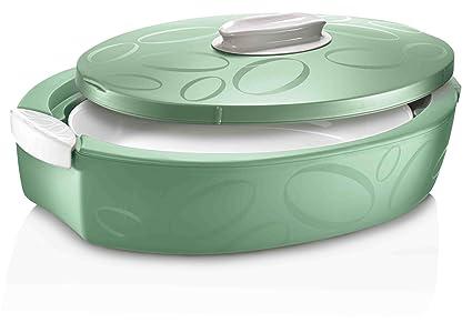 EN Joy Enjoy * recipiente térmico tuttocaldo ovalada 3 L – Verde