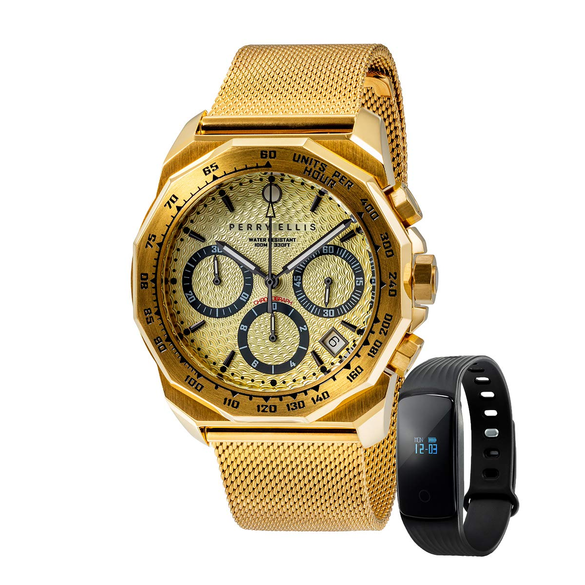 Amazon.com: Perry Ellis Men Watch with Bluetooth Smart Watch ...