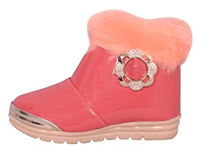 Fashion Shoes Unisex-Baby's Pink Modern