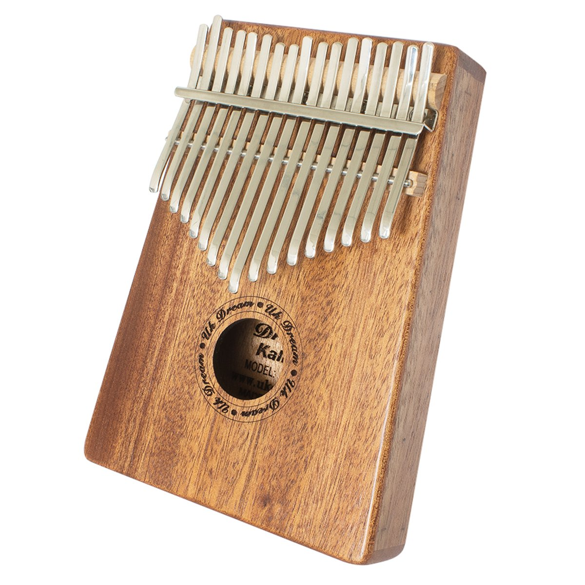Thumb Piano 17 Keys Kalimba Mahogany Body Portable Instrument with Tuning Hammer Music Book Carry Bag etc 4336351432