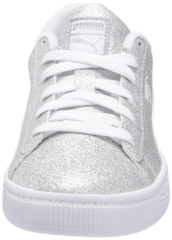 PUMA Basket Holiday Glitz Kids Sneaker