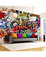 murando - 200x140 cm XXL-Wandbild auf Vliesleinwand! Großformat Poster Wanddekoration - Fototapete - Tapete - Bild - Bilder - Mural Art Graffiti Streetart f-A-0348-a-b