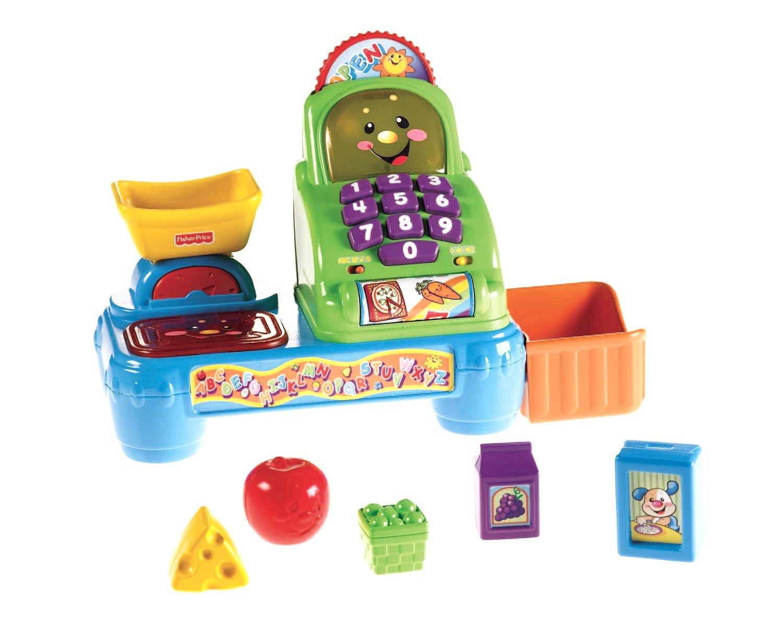 Kaufladen Kasse Mattel Fisher-Price Lernspaß Kasse