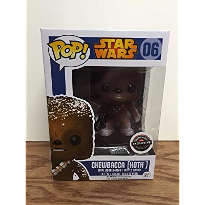 Funko Chewbacca Hoth - Star Wars Exclusive Pop! Vinyl Figure #06: Toys & Games