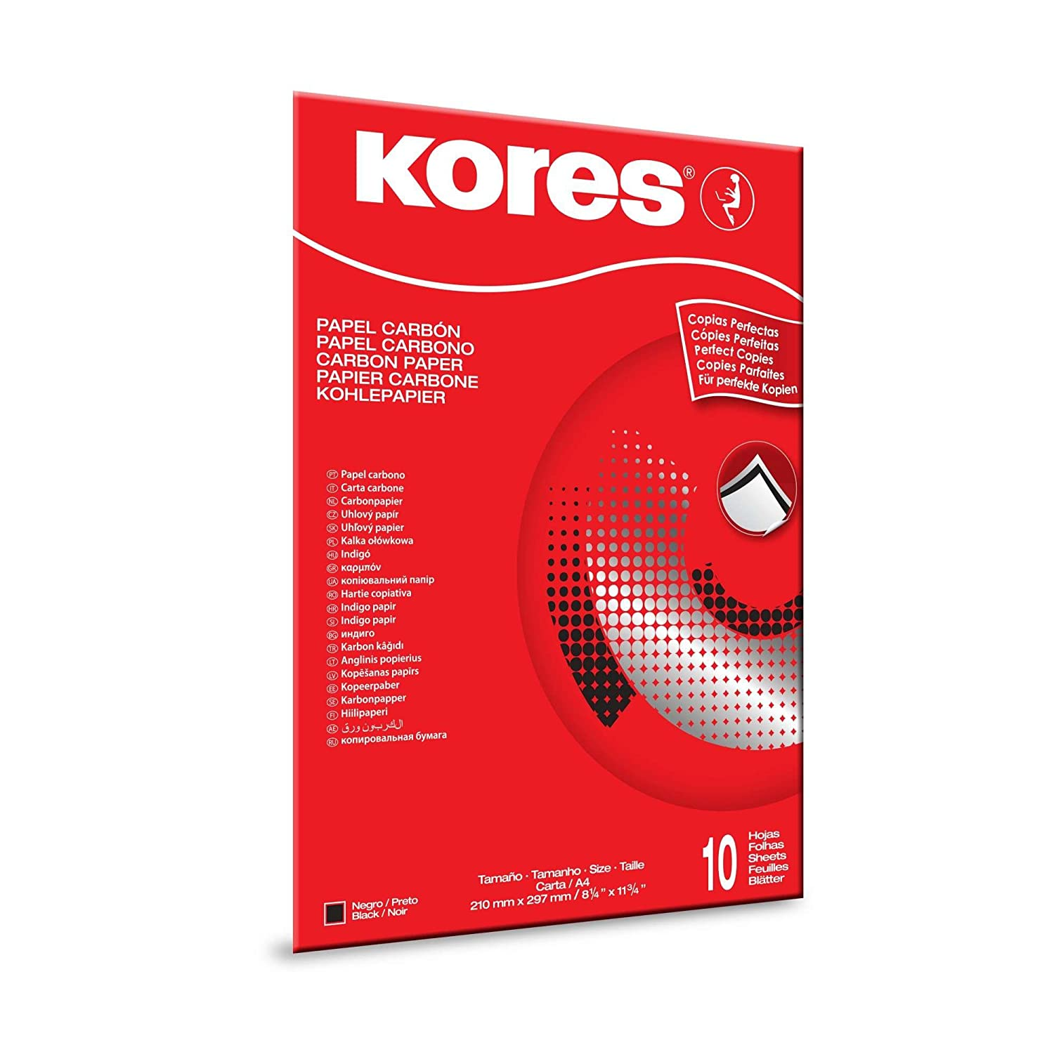 Kores 78966 Carta Carbone